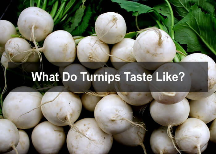 What do turnips taste like